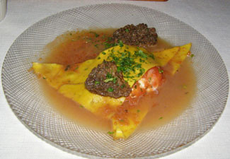 Ravioli - The 1785 Inn - Photo by Luxury Experience